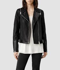 black leather biker jackets allsaints range leather biker jacket