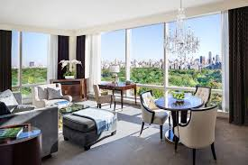 New York Hotels With 2 Bedroom Suites Central Park View Hotels Trump Hotel New York Executive Park View
