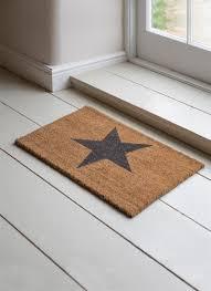 Decorating coir door mats pics : Star Doormat, Small - Coir | Garden Trading