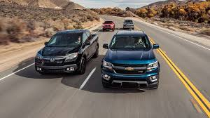 Honda Ridgeline Model Comparison Chart Chevrolet Colorado Vs Ford Ranger Vs Honda Ridgeline Vs