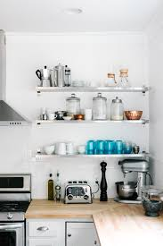 Image Steel Floating Stainless Steel Cleaner Homedit How To Mix And Match Stainless Steel Kitchen Shelves With Your Style