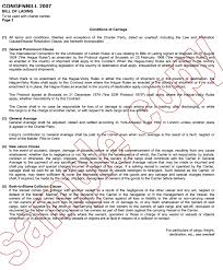 What Is A Charter Party Bill Of Lading Advancedontrade