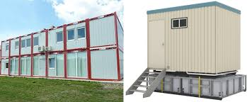 office in container. site office cabin or construction temporary container in malaysia