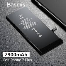 Baseus 2900mAh <b>High Capacity</b> Original <b>Phone Battery</b> For iPhone ...