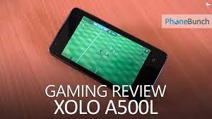 XOLO A500L Gaming Review