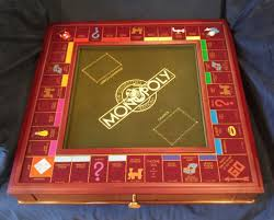 Wooden Monopoly Board Game 100 franklin mint collector's edition monopoly wooden boardgame 65