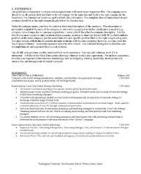 Mba Application Resume Sample Resume Sample Mba For Freshers Finance And Marketing Curriculum 55