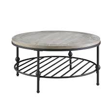 From glass, marble, and wood to coffee tables with storage — we've got options for whatever look you're pining for. Emerald Round Wood Black Metal Coffee Table