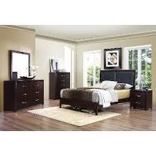 platform bedroom sets king. contemporary casual espresso 6-piece king bedroom set - edina platform sets s