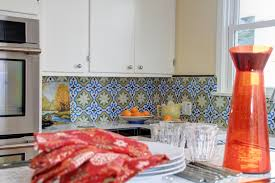 spanish tiles kitchen backsplash sathoud decors