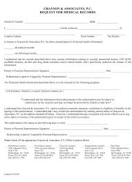 Authorization Request Form Interesting Medical Records Release Form Template Free Photo Release Form