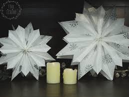 Diy Weihnachtsstern Aus Papiertüten Frau Liebling Diy Blog