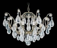 fantastic pair of rock crystal chandeliers at 1stdibs