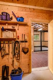 Building Horse Stalls 12 Tips For Your Dream Horse Barn  Wick Horse Tack Room Design