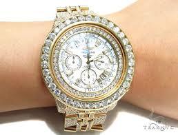 breitling bentley fully iced 18k gold diamond watch 42924 mens mens diamond jewelry diamond watches breitling breitling bentley fully iced 18k gold diamond watch 42924