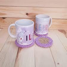 Новото ми предложение от поредицата покани лятото в дома си! е как да си направите красиви и ефектни подложки за чаши. Komplekt Podlozhki Za Chashi Art Dyukyan