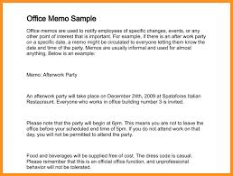 memos samples 10 format and samples of memorandum appication letter