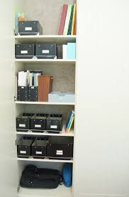 office closet shelving. organizing an office in a closet 15 shelving