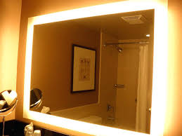 bathroom mirrors with led lights. Bathroom Mirror With Led Lights Endearing Light Mirrors Ideas To Complete Your Home Impressive Over .