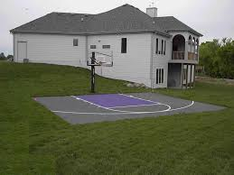 sport court cost. Wonderful Sport Backyard Sport Court Cost With Basketball Surfaces Ideas On Sport Court Cost E