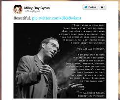 Famous Christian Scientists Quotes Best of Justice Through Music Miley Cyrus Wants Science And Religion To