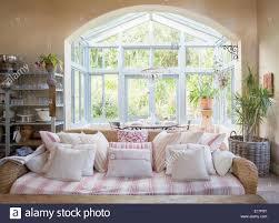 shabby chic furniture living room. Shabby Chic Living Room And Sunroom - Stock Image Furniture D