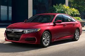 garden city honda. 2018 Honda Accord Sedan In Red Parked On A City Street Garden