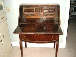 small antique school desk secretary with hutch value all home ideas and decor roll top for