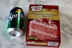 Strawberry Cake Recipe Quick And Easy Soda Cake
