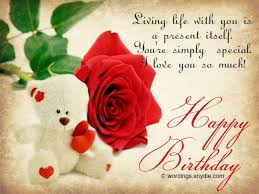 Happy Birthday Wishes For Girlfriend Wordings And Messages Fascinating Happy Birthday Love Quotes For Girlfriend