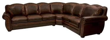 rustic leather sectional. Interesting Sectional Western Themed Leather Sectional Rustic Sofas With Architecture  Ideas And Sofa Intended I