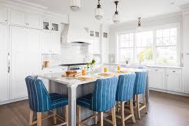 coastal kitchen designed for rhode island family home