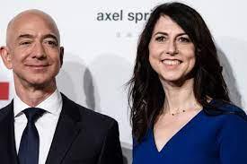 Jeff Bezos' billionaire ex-wife ...