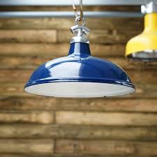 salvaged enamel colonial light navy blue shade