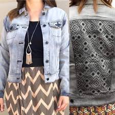 Lularoe Grey Harvey Denim Jacket Bnwt