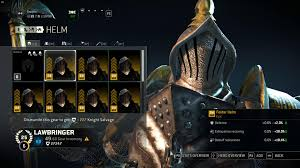 For Honor Gear Chart Season 3 All Possible Gear Stats Of Maxed Out Epic Gear