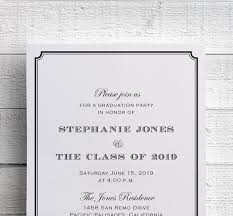 Formal College Graduation Announcements Formal Graduation Invitation College Graduation Invitation High School Graduation Invitation Class Of 2019 Printable Or Printed
