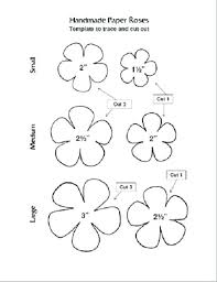 Paper Flower Printables Paper Flower Templates Flowers Healthy