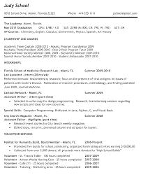 Sample College Resume Unique College Resume Objective Sample Resume Objective Examples 90