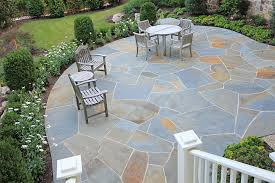 flagstone boulders supply in ct call diy patio irregular flagstone patio with fire pit natural