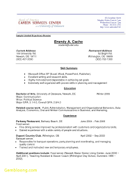 Resume For Teenager With No Work Experience Template New Resume Template For High School Student With No Work 34