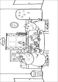 Peppa Pig En Familie Kleurplaat Jouwkleurplaten