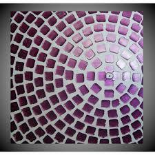 Acrylbild Abstrakt Violett Acrylbilder Auf Leinwand Bild Für