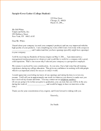 Resume Cover Letter Examples For Students Cover Letter Examples For Students In College Resume Cover Letter 18