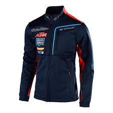 Details About Troy Lee Designs Tld Ktm Team Polar Fleece Mens Textile Jacket Navy