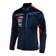 Ktm Jacket Size Chart Details About Troy Lee Designs Tld Ktm Team Polar Fleece Mens Textile Jacket Navy