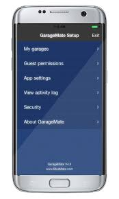 GarageMate: open your garage with your iPhone or Android. Simple ...
