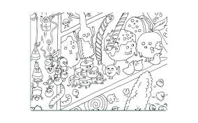 Web Warriors Coloring Pages Desert Food Chain Ocean Simple Page W