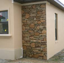Fabricated Stone Accent Walls  Ocala Stone Finish - Exterior walls