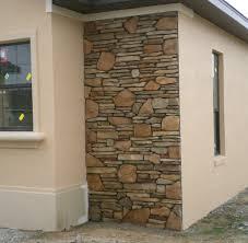 Fabricated Stone Accent Walls  Ocala Stone Finish - Exterior walls